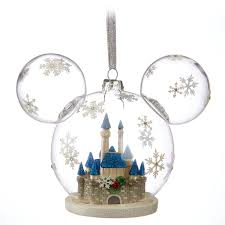 mickey mouse fantasyland castle ornament shopdisney