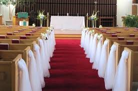 pew decorations for weddings pews decorations wedding