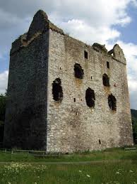 newark castle bowhill selkirk the castles of scotland