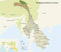 Yellow River China Map by The Mekong And Salween River Basins Grid Arendal