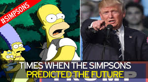 Presidential Election 2016 Predictions Car Interior Design by 11 Times The Simpsons Eerily Predicted The Future After It Got