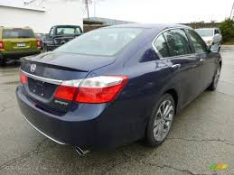 2013 obsidian blue pearl honda accord sport sedan 71532055 photo