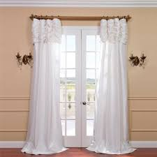 bailor ruched semi opaque single curtain panel products pinterest