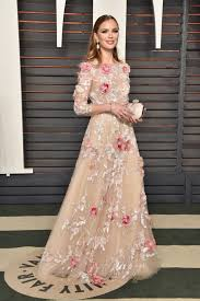Vanity Fair Gowns And Robes Georgina Chapman Vanity Fair Dress Marchesa Vestid Floral