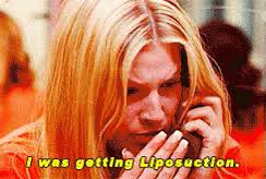 Legally Blonde Meme - i was getting liposuction legally blonde gif legallyblonde
