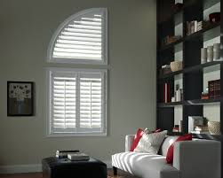 arc window blinds are perfect decoration for your house home