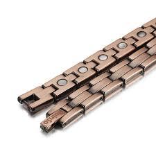 copper link bracelet images Pure mens copper bracelet arthritis healing bangle rainso jewelry jpg