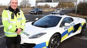 police mclaren uk police receives mclaren 12c spider patrol car