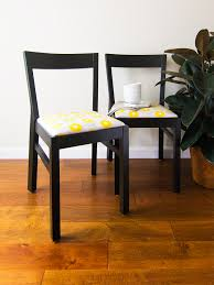 Diy Dining Room Chair Covers Dining Chairs Awesome Diy Dining Room Chair Makeover Yellow