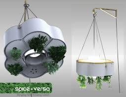 Indoor Herb Garden Light Hydroponic Planter And Lamp