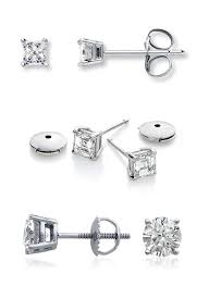 earring back types a jewellery must diamond studs