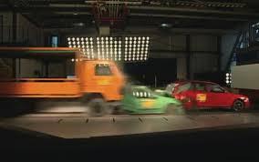 koenigsegg crash test video adac multi car crash test asks for mandatory eba for trucks