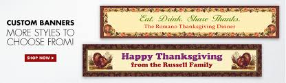 thanksgiving banners garlands hanging decorations city