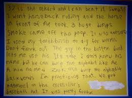 best summer camp letter home ever y107