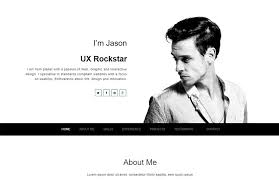 best free creative resume template winner webthemez