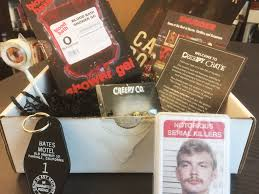 Blood Bath Shower Gel The Lineup Newsletters Unboxing Our Inaugural Creepy Crate