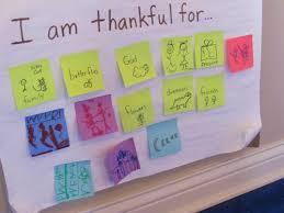 our thanksgiving chart teach preschool