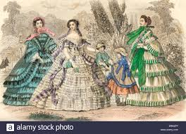 godey s fashions 1860 godey s fashion plates july 1860 civil war clothing style
