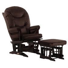Dutailier Ultramotion Glider And Ottoman Dutailier Brown Microfiber Sleigh Glider Chair Ottoman Free