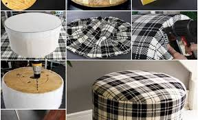 Handmade Ottoman Ottoman Made From Wire Spools Archives Find Projects To