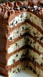 triple chocolate fudge cake marshmallow creme frosting layered