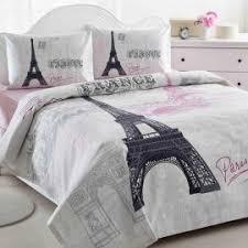 Paris Curtains Bed Bath Beyond Paris Themed Bedding Sets Queen And Kids Haute Couvertures Rose