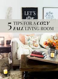 Cozy Livingroom 5 Tips For A Cozy Fall Living Room U2014 Elle Talk Houston Texas