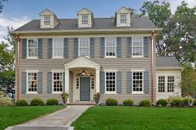 Classic Colonial Homes Build New Home Home Decor