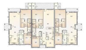 multi family home design house plan triplex floor plans home act multi story house plans