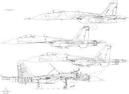 Blueprints Free by Sukhoi Su 27 Blueprint Download Free Blueprint For 3d Modeling