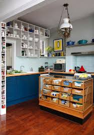 trendy eclectic kitchens that serve personalized style view gallery repurposed haberdashery cabinet turned into stunning kitchen island from alison hammond photography