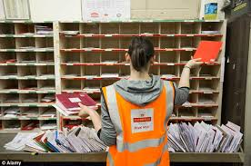 royal mail to give posties 4 days at with services