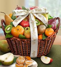 fruit baskets you peace sympathy fruit basket