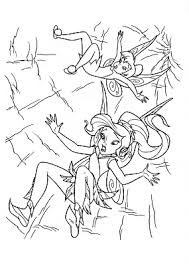 digital dunes fall tinkerbell coloring pages