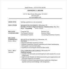 Sample Resume For Tax Accountant by Sample Accountant Resume 12 Download Free Documents In Pdf Word