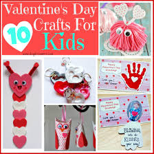 ten valentine u0027s day crafts for kids day dreamer