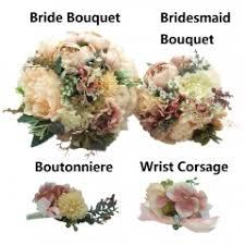 bridesmaid corsage wedding bouquet bridesmaid bouquet wrist corsage brooch pin