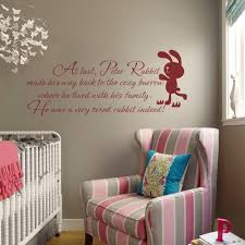 ba nursery stencils uk ba nursery and kids room pertaining to baby image of peter rabbit wall decal ba nursery wall quote ba room wall within baby