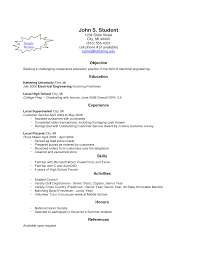 Example Of Resume For Fresh Graduate Application Letter Sample For Fresh Graduate Social Work Duties