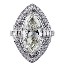 5 engagement ring 5 carat marquise cut platinum engagement ring boca raton