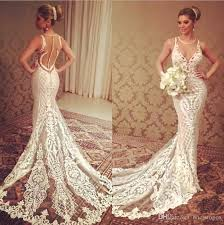 wedding dresses made to order 2018 mermaid lace wedding dresses see through