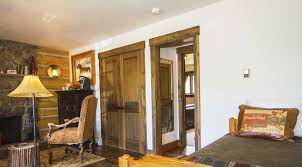 bed and living ridge lodging at c lazy u dude ranch accommodations colorado