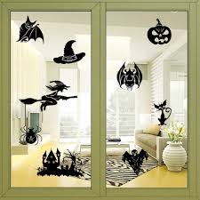halloween wall stickers compare prices on halloween window decals online shopping buy low