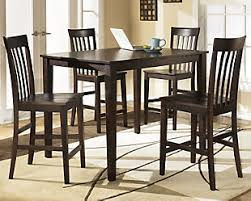 hyland dining room table and chairs set of 5 ashley furniture