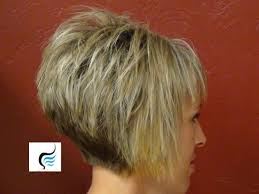 short hairstyles front and back haircuts stacked back long front styles
