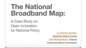 National Broadband Map Zachary Bastian Wilson Center