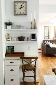 Small Desk Home Office We This Home Office Nook A Set Of Drawers Shelves And Some