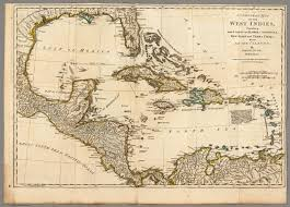 New Spain Map by A Compleat Map Of The West Indies David Rumsey Historical Map