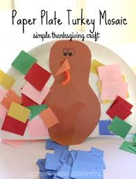 turkey plate craft simple paper plate turkey craft for kids school time snippets