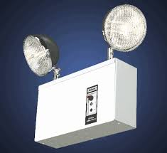unit equipment emergency lighting solid letter led exit